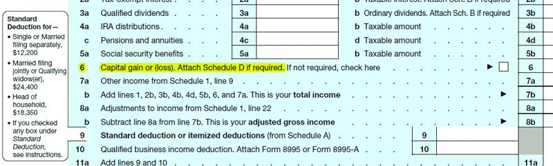 Form 1040 Line 6